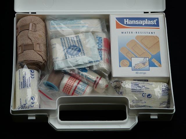 Keep First Aid Handy